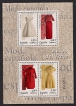 Stamps of the world : Spain :  MUSEO DEL TRAJE - Balenciaga