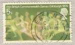 Stamps United Kingdom -  Ninth British Commonwealth Games