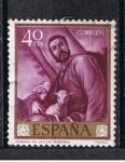 Sellos de Europa - España -  Edifil  1499  Pintores  Jose de Ribera  El Españoleto