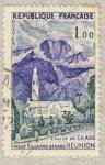 Sellos de Europa - Francia -  Eglise de Cilaous (La R�union)