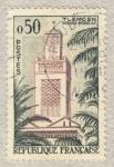 Sellos de Europa - Francia -  Mosquée de Tlemencen (Algérie)