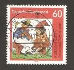 Sellos de Europa - Alemania -  cuentos populares, el violinista y el hombre del agua