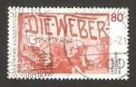 Stamps Germany -  1176 - 125 Anivº del nacimiento de Gerhart Hauptmann, escritor y poeta