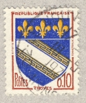 Sellos de Europa - Francia -  Villes - Troyes