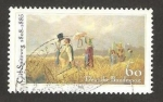 Stamps of the world : Germany :  1090 - Centº del fallecimiento del pintor Carl Spitzweg