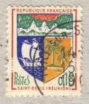 Sellos de Europa - Francia -  Villes - Saint-Denis de la Réunion