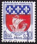 Sellos del Mundo : Europa : Francia : Escudo, Paris