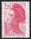 Sellos de Europa - Francia -  Michel 2510, Yvert 2376. Sello Serie Basica