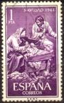Stamps Spain -  NAVIDAD 1961