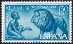 Sellos de Africa - Guinea Ecuatorial -  Rio Muni **. Pro infancia