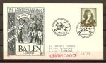 Stamps Spain -  150 Aniversario de la Guerra de la Independencia. (Bailen)