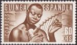 Stamps Africa - Equatorial Guinea -  Guinea española **. Pro indígenas