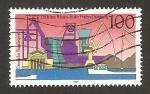 Sellos de Europa - Alemania -  275 anivº del puerto de duisburg