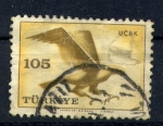 Stamps Asia - Turkey -  UÇAK