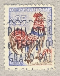 sellos de Europa - Francia -  Coq de Decaris
