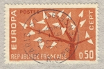 Sellos de Europa - Francia -  Europa CEPT 1962