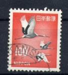 Stamps Asia - Japan -  Cigüeñas