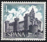 Sellos de Europa - España -  1927 Castillos de España. Turégano, Segovia.