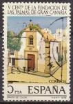 Sellos de Europa - España -  ESPAÑA 1978 2478 Sello Cent. Fundacion de Las Palmas de Gran Canaria Ermita de Colon Usado