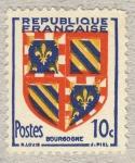 Stamps France -  Provinces - Bourgogne