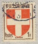 Stamps France -  Provinces - Savoie