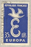 Stamps France -  Europa CEPT 1958