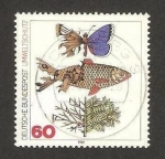Stamps : Europe : Germany :  protección del medio ambiente y la naturaleza