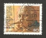 Stamps Germany -  1140 - Canciller Ludwig Erhard, 90 anivº de su nacimiento
