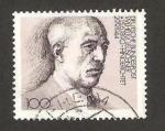 Stamps Germany -  wilhelm leuschner, sindicalista, centº de su nacimiento