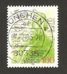 Stamps Germany -  175 anivº del nacimiento del poeta Theodor Fontane
