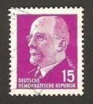 Sellos de Europa - Alemania -  Presidente Walter Ulbricht