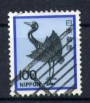 Stamps Japan -  estatuilla antigua