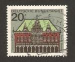 Sellos de Europa - Alemania -  295 B - Edificio de Bremen