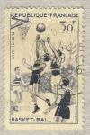 Stamps France -  Basket-ball