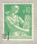 Stamps France -  Moissonneuse