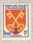 Stamps France -  Armoiries de Provinces  Comtat Venaissin