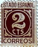 Stamps Europe - Spain -  Cifras Estado Español