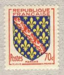 Stamps France -  Armoiries de Provinces  Marche