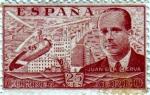 Stamps Spain -  Juan de la Cierva