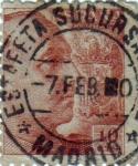 Sellos de Europa - España -  Efigie del gral.Franco