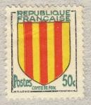 Stamps France -  Armoiries de Provinces  Comté de Foix