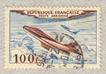 Stamps : Europe : France :   Avions Prototype Dassault Mystère IV