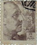 Stamps Spain -  Efigie del gral.Franco