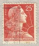 Stamps France -  Marianne de Muller