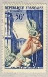 Stamps Europe - France -  Productions de luxe  Joaillerie et orfèvrerie  la Madeleine