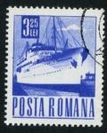 Sellos del Mundo : Europa : Rumania : Barco