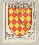 Stamps France -  Armoiries de Provinces   Angoûmois