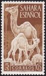Stamps Africa - Morocco -  Sahara español **. Día del sello colonial