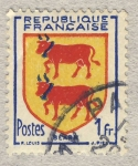 Stamps France -  Armoiries  Provinces - Béarn