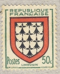 Stamps France -  Armoiries   Provinces - Limousin